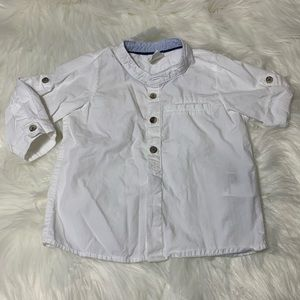 H&M 4-6 Months Boy Button Down Shirt